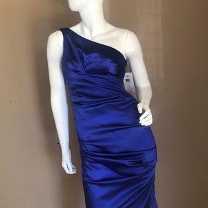 Nicole Miller Royal Blue Cocktail Dress